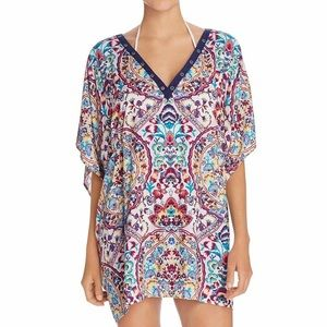 NWT Nanette Lepore Festival Folklore Cover-Up